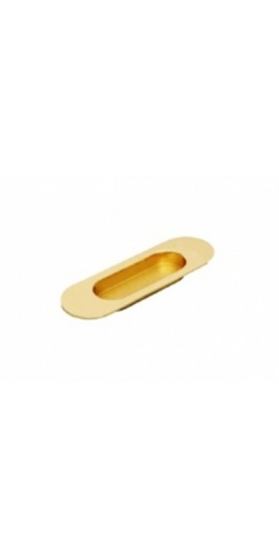 Ручка скрытая купе без замка матовое золото