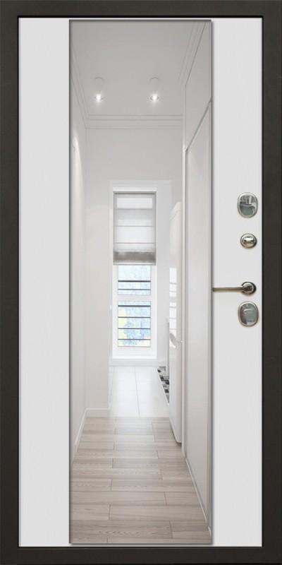 Зеркало LUX  ПВХ белый +5 000 ₽