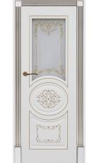 Карина 13 - эмаль белая + патина золото ДO